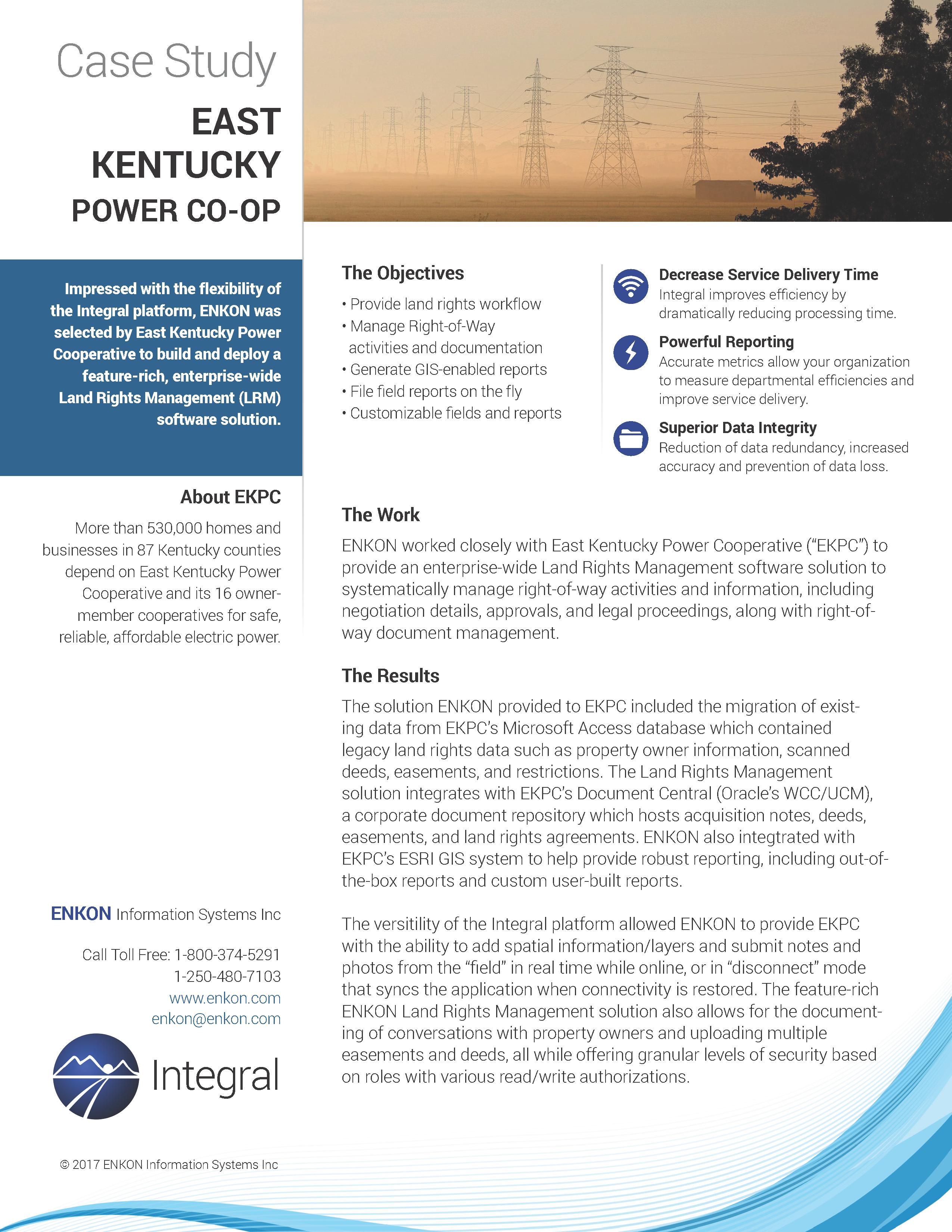 Eastern Kentucky Power 1.0
